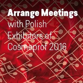 Polish exhibitors at Cosmoprof