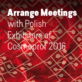 Polish exhibitors at Cosmoprof